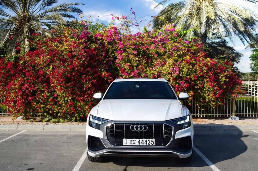 OUT NOW! BOOK OUR NEW AUDI Q8 5,5 TDI S-LINE